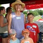 Ann Mallek and grandchildren